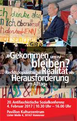 20. Antifaschistische Sozialkonferenz